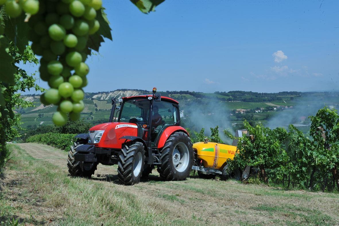 enovitis in campo 2018 argo tractors fabbrico