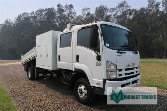 2012 Isuzu FRR 500 Crew Midcoast Trucks - Trucks for Sale