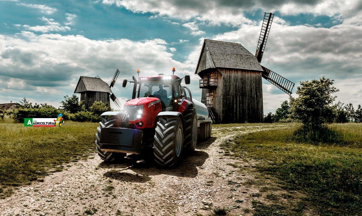 agro show argo tractors polonia