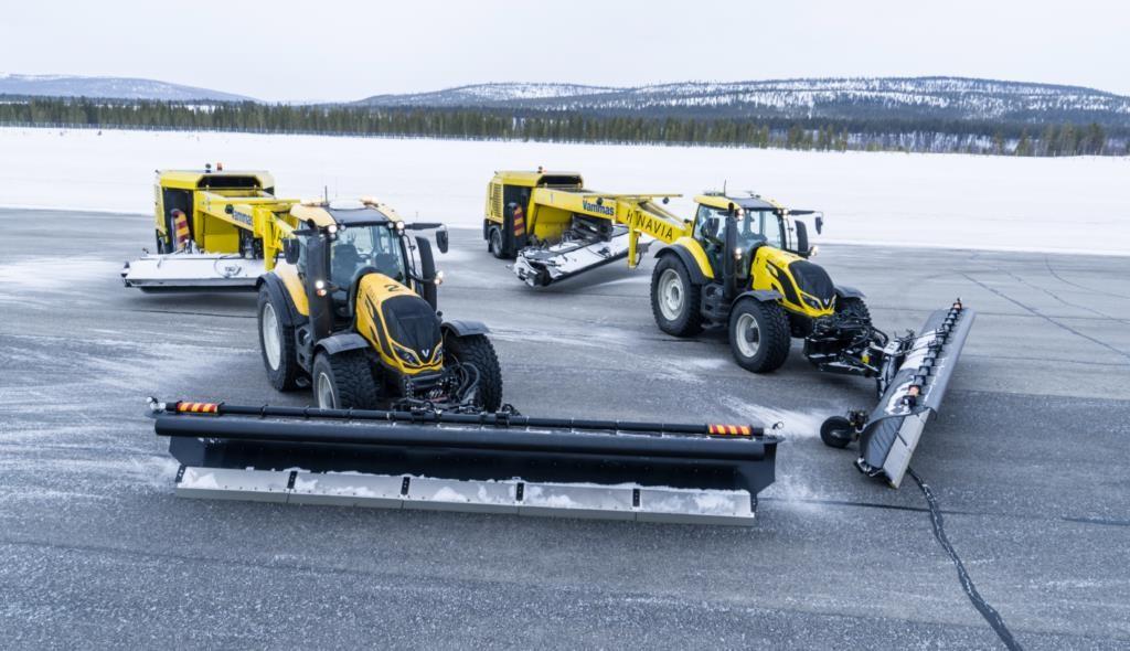 trattori valtra manutenzione aeroportuale