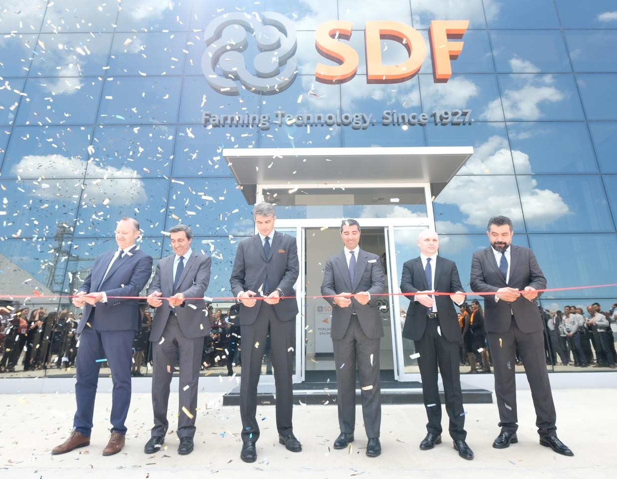 sdf group inaugurazione nuovo impianto costruzione in Turchia
