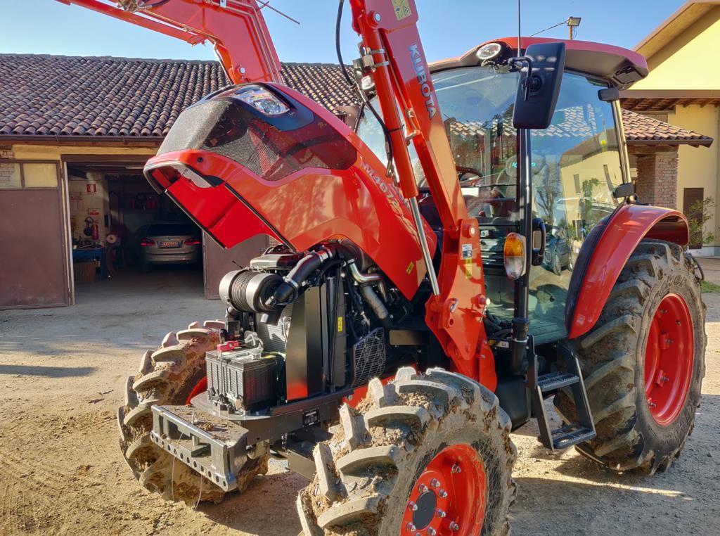 trattori kubota prova lavoro