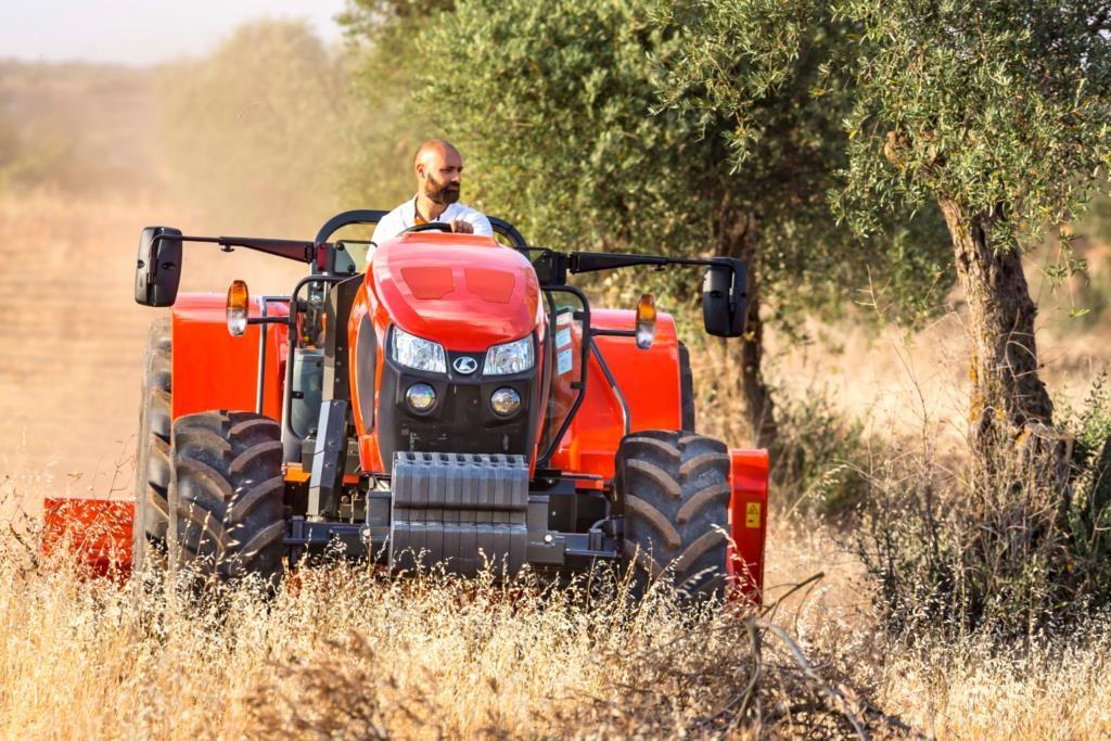 nuovo trattore kubota serie m