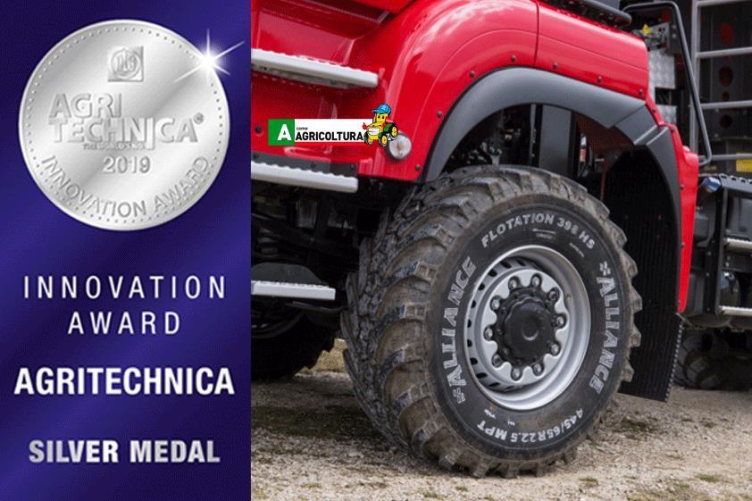 pneumatici alliance trattori agritechnica hannover novità