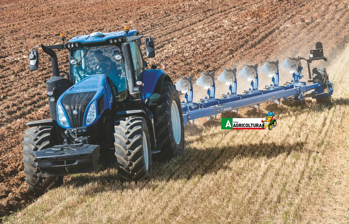 trattore new holland t8 genesis