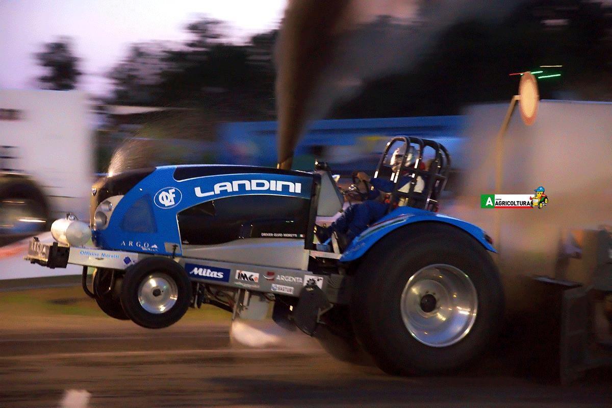 landini tractor pulling argo team