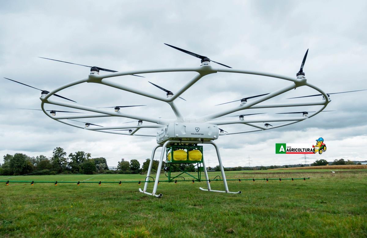 agritechnica 2019 john deere volocopter drone