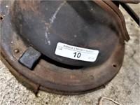 Antique 1920s GE Industrial Art Deco 4-Blade Fan