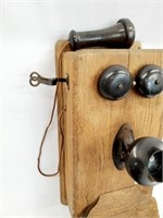 Antique The Stromberg Carlson Wall Telephone