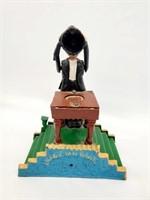 Vintage Mechanical Magician Cast Iron Bank