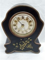 Vintage Swiss Musical Alarm Mantle Clock
