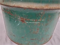 Huge Vintage TEXACO Petroleum 15 Gal Drum