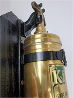 Vintage Walter Kidde No.8 Brass Fire Extinguisher