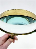 Large Vintage Hi-Power Magnifying Glass & Cover