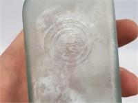 [3] Antique 1800s Medicine & Barber's Bottles