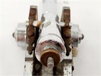 Vintage Italian Mini Firing Toy Naval Cannon