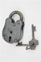 Working Antique Padlock w/ Keys INCREDIBLE!