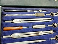 Charvos No. 877 Drafting/Drawing Tool Set Complete