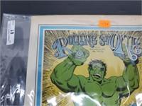 Scarce 1971 Incredible Hulk Rolling Stone Magazine