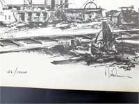 1970s Historic St Charles Artists Signed Prints
