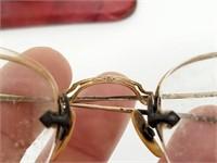 Antique 12K Eye Glasses From Malden, Missouri