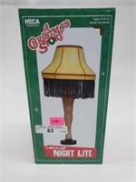 "Christmas Story 5"" Leg Lamp Night Light NIB"