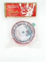 Vintage Sealed Christmas Roullette Wheel Toy