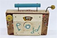 1961 Fisher Price Ten Little Indians TV Radio Toy