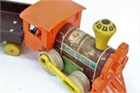 1964 Fisher Price Chug-Chug 3-PC Pull Toy Train