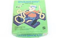 1974 Milton Bradley It's Knot Easy Puzzle Game