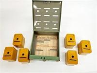 1930s Tudor Metal Prod Corp Home Budget Bank
