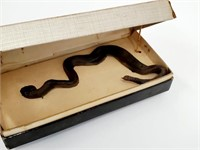 Vtg Howell And Shreeck Snake Gag Jewelry Box