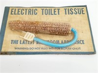 Funny Vtg Electric Toilet Issue Novelty Sealed