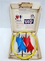 Orig 1950s JARTS Outdoor Darts Game NOS