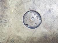 WW1 German Used Brass Artillery Shell