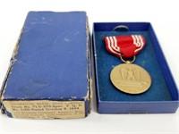 WW2 Good Conduct Décor Medal & Box