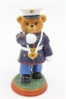 Hamilton Collection USMC Colors Of Freedom Bear