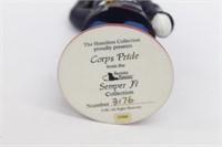 Hamilton Collection USMC Corps Pride Bear