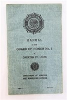 St. Louis Guard Of Honor No. 1 Manual