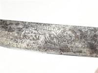 Rare Civil War Era Ivory Handle Fighting Knife