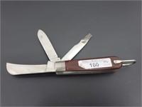 Vintage Klein Tools 3-Blade Utility Knife