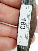 Pre-1937 Utica Controversial Bolt / SS Knife