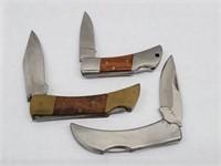 [3] Vintage Single Blade Pocket Knives