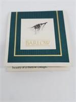 NIB Barlow Scrimshaw Lighthouse Sailboat Knife