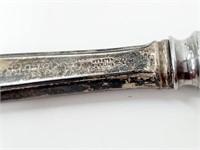 Vintage Webster Sterling Handle Table Knife