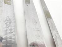 3-pc Shapleigh Diamond Edge De Lure Knife Set