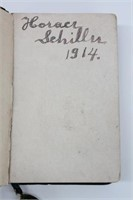 Antique Victorian German Bible Der Christ Im Febe