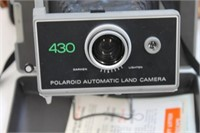 Vintage Polaroid Land Camera # 430 W/