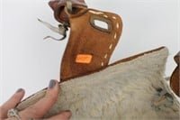 Hand Crafted Leather Horse Saddle Purse