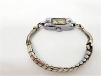 Rare 1936 Deco Bulova 15j 4AE Diamond Watch